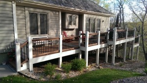 Johnson County Painting Deck Project